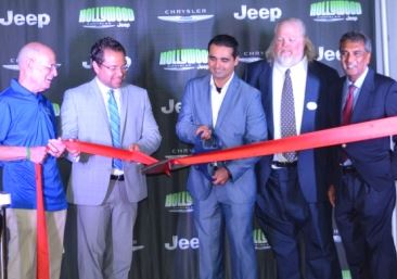 Ribbon Cutting Ceremony Hollywood Chrysler Jeep