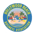 Hollywood Beach Business Association logo