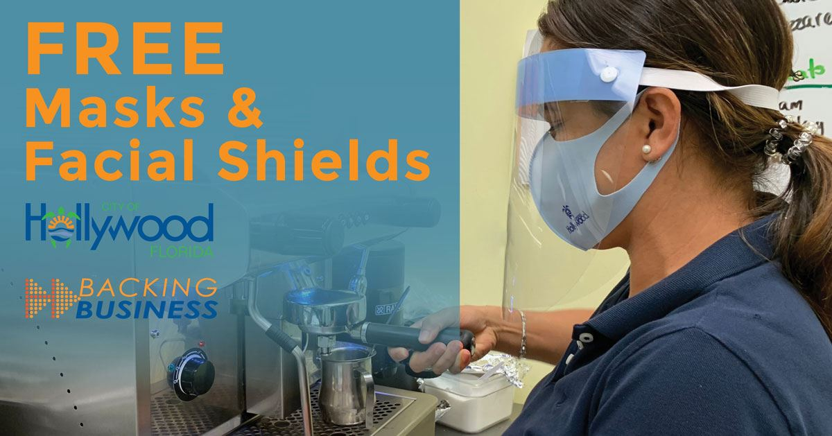 Free Face Masks & Shields